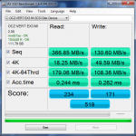 My AS SSD score using Marvell 9128 SATA 3